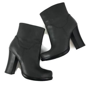 KORK-EASE Sz 6 Grey Vallery Boots Booties